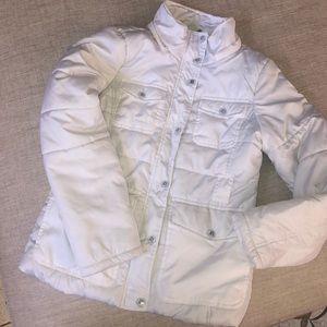 white winter/snow jacket (puffer)